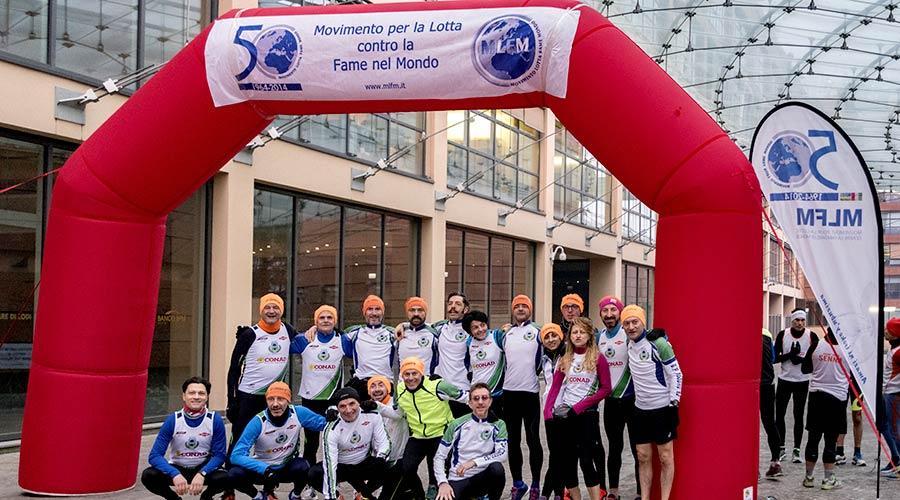 """Il 2011 è l'anno in cui si realizza la  prima """"Città di Lodi Relay Marathon"""", evento benefico di raccolta fondi."""